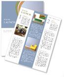 Yellow Armchair Newsletter Template
