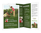 Children Plant Tree Brochure Templates