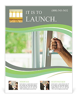 open window flyer template design id 0000007431 smiletemplates com
