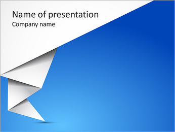 Creative Paper Design PowerPoint Template