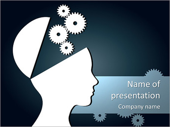 Brain Mechanism PowerPoint Template