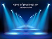 Красный свет репроектора Шаблоны презентаций PowerPoint