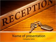 Reseption Stand PowerPoint Templates