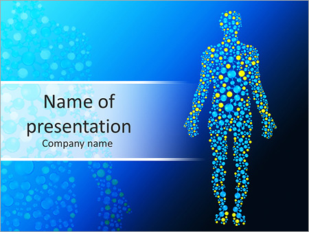 Body Chemistry Powerpoint Template  Backgrounds Id