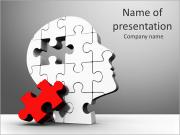 Head pussel PowerPoint presentationsmallar