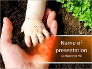Adulte et main Modèles des présentations  PowerPoint