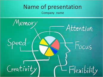Brain Chart PowerPoint Template