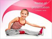 Kindersport PowerPoint-Vorlagen