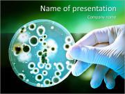 Microbe Modèles des présentations  PowerPoint