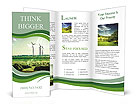 Wind Generators, Ecology Brochure Templates