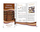 Law book library Brochure Templates