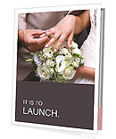 He Put the Wedding Ring on Her Presentation Folder
