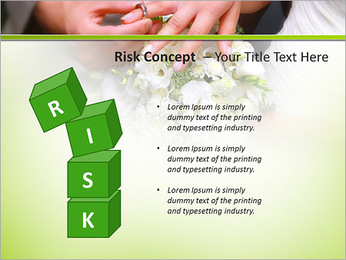He Put the Wedding Ring on Her PowerPoint Template - Slide 61