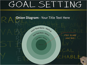 Business hand writing concept of smarter goal or objective setting - specific - measurable - achiev PowerPoint Templates - Slide 41