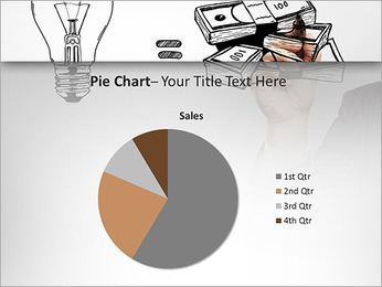 Hand drawing idea is money concept PowerPoint Templates - Slide 16