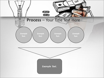 Hand drawing idea is money concept PowerPoint Templates - Slide 73