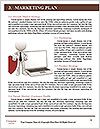 Justice Gavel and keyboard on a white background Word Templates - Page 8
