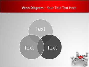 3d people - man, person with gear mechanism. PowerPoint Template - Slide 13