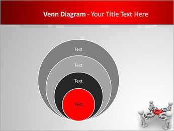 3d people - man, person with gear mechanism. PowerPoint Template - Slide 14