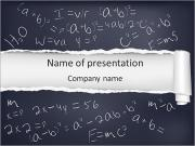 Math Formula PowerPoint Templates