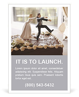 Wedding Cake Ad Templates