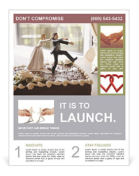 Wedding Cake Flyer Templates