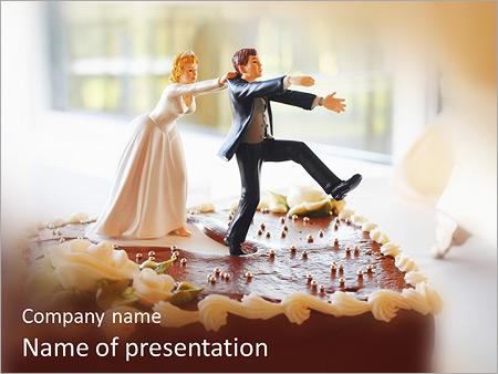 Wedding Cake PowerPoint Templates
