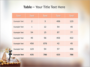 Wedding Cake PowerPoint Template - Slide 35