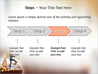 Wedding Cake PowerPoint Template - Slide 4