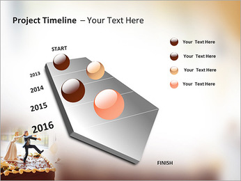 Wedding Cake PowerPoint Template - Slide 6