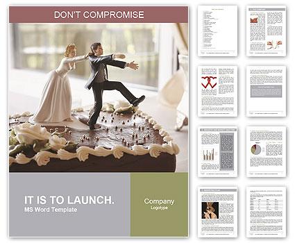 Wedding Cake Word Templates
