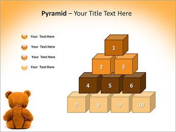 Brown Teddy Bear PowerPoint Templates - Slide 11