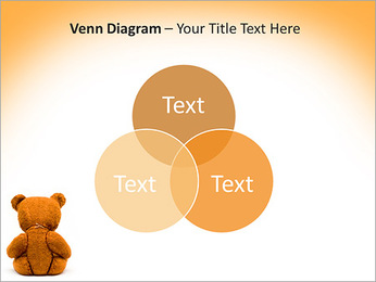 Brown Teddy Bear PowerPoint Template - Slide 13
