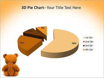 Brown Teddy Bear PowerPoint Template - Slide 15