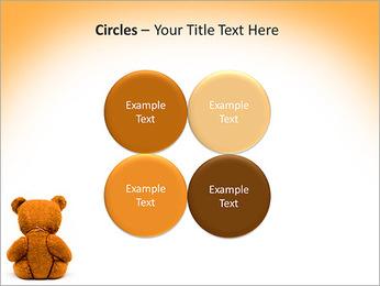Brown Teddy Bear PowerPoint Template - Slide 18