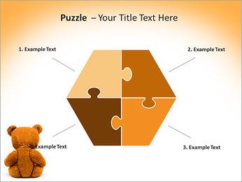Brown Teddy Bear PowerPoint Templates - Slide 20