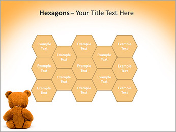 Brown Teddy Bear PowerPoint Template - Slide 24
