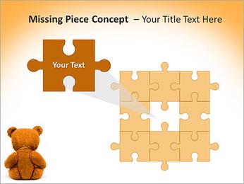 Brown Teddy Bear PowerPoint Templates - Slide 25