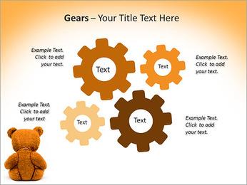 Brown Teddy Bear PowerPoint Templates - Slide 27