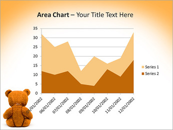 Brown Teddy Bear PowerPoint Templates - Slide 33