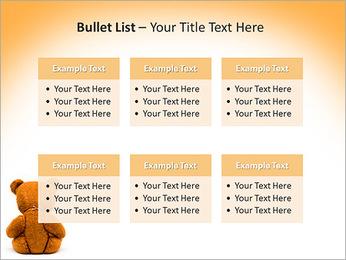 Brown Teddy Bear PowerPoint Template - Slide 36