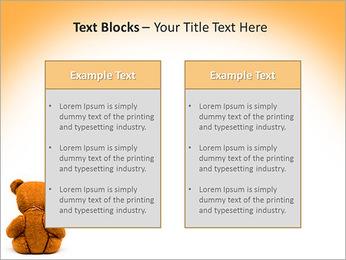 Brown Teddy Bear PowerPoint Template - Slide 37