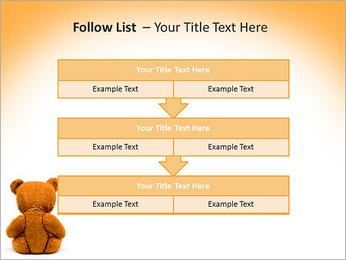 Brown Teddy Bear PowerPoint Template - Slide 40