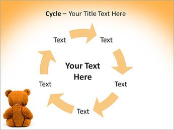 Brown Teddy Bear PowerPoint Template - Slide 42
