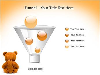 Brown Teddy Bear PowerPoint Template - Slide 43