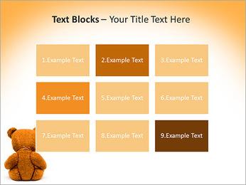 Brown Teddy Bear PowerPoint Template - Slide 48