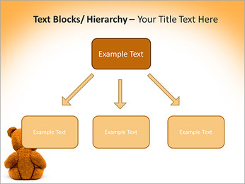Brown Teddy Bear PowerPoint Template - Slide 49