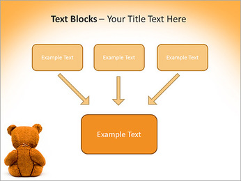 Brown Teddy Bear PowerPoint Template - Slide 50