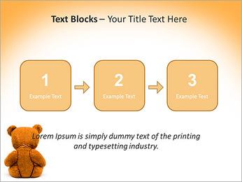 Brown Teddy Bear PowerPoint Template - Slide 51