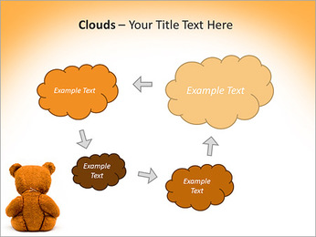 Brown Teddy Bear PowerPoint Template - Slide 52
